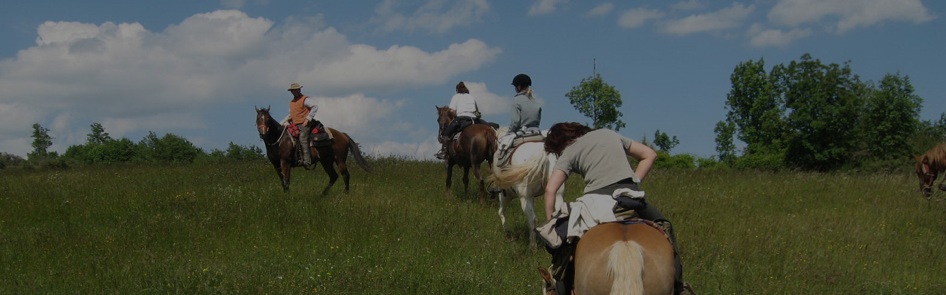 passeggiata cavallo agriturismo panoramico lago martignano roma lazio