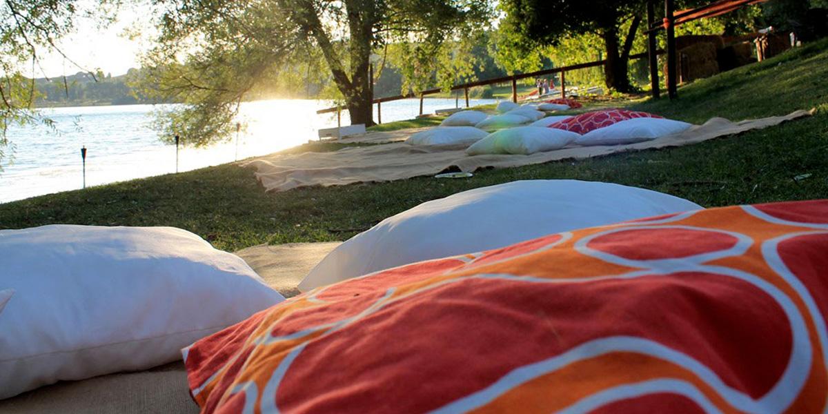 aperitivo festa spiaggia lago agriturismo roma lazio