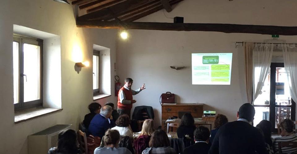 eventi aziendali agriturismo aula didattica casale martignano roma lazio