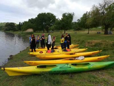 Tour del Lago in Kayak