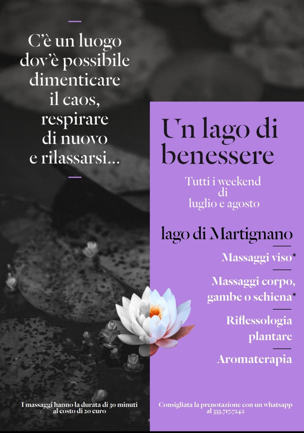 Massaggi Lago di Martignano